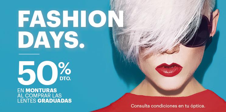 Fashion Days: 50% de descuento en monturas